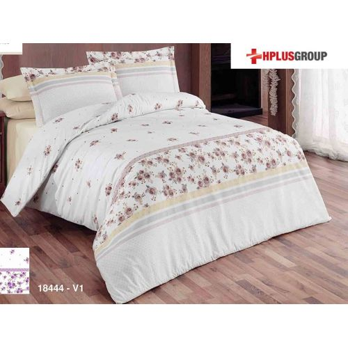 Lenjerie de pat din bumbac satinat - Aliza 18444
