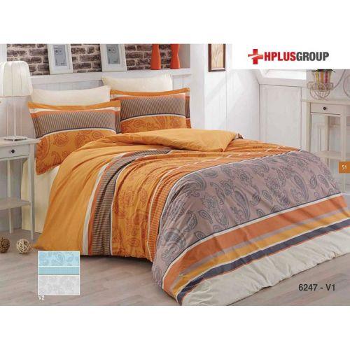 Lenjerie de pat din bumbac satinat - Arina 6247