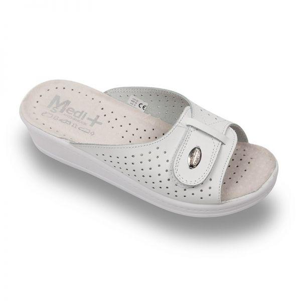 Papuci Medi+ 312SB alb – dama