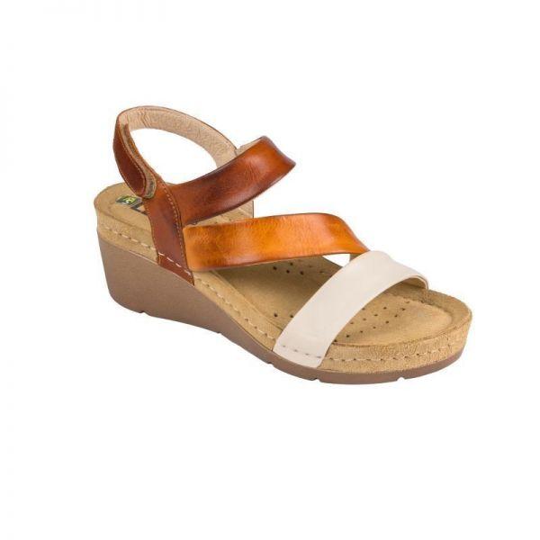 Sandale Leon 1020 maro – dama