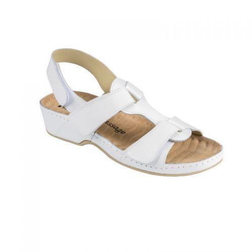 Sandale Medi+ 245 alb – dama