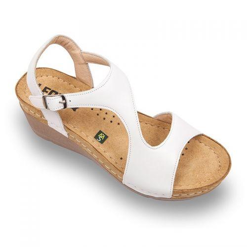 Sandale Leon 1050 alb – dama