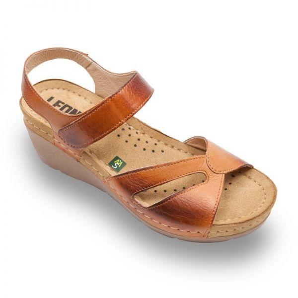 Sandale Leon 1056 maro – dama