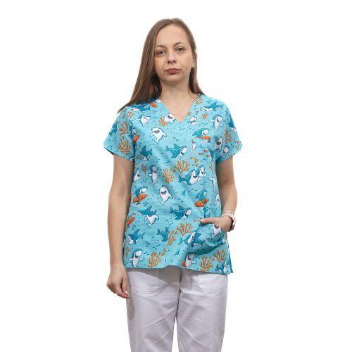 Bluza dama imprimata model 4