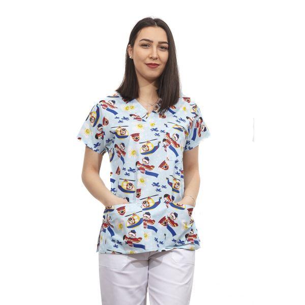 Bluza dama imprimata model 7