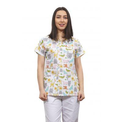 Bluza dama imprimata model 9