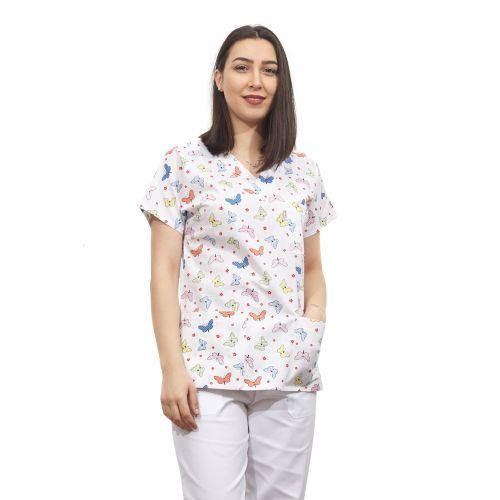 Bluza dama imprimata model 10