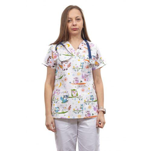 Bluza dama imprimata model 12
