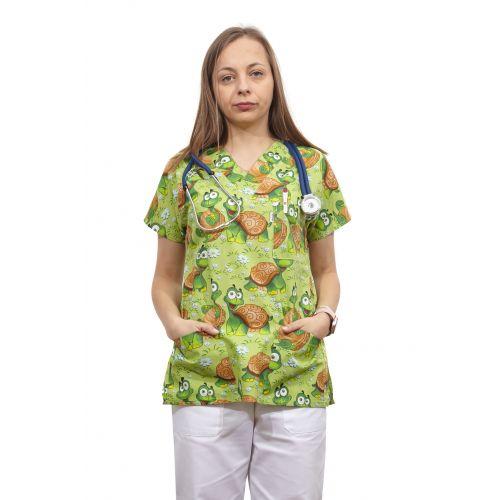 Bluza dama imprimata model 14