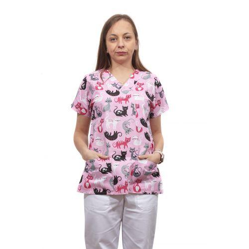 Bluza dama imprimata model 15