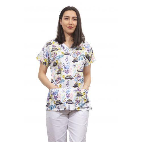 Bluza dama imprimata model 16