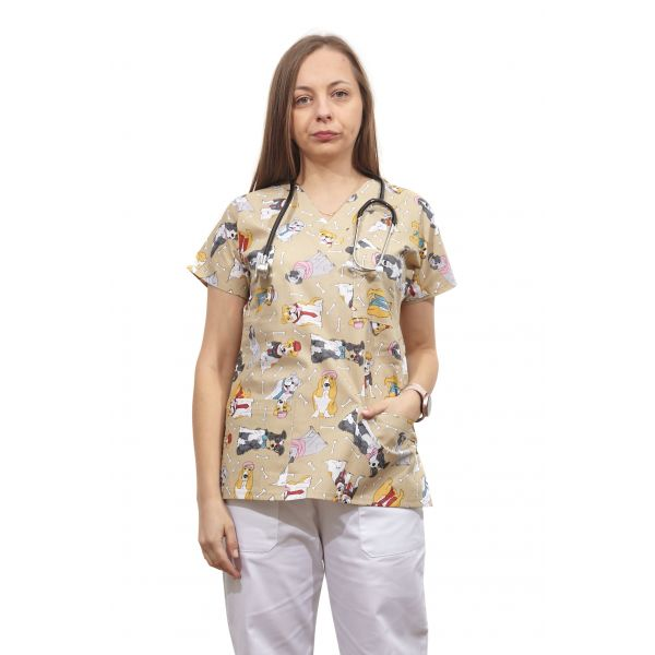 Bluza dama imprimata model 21