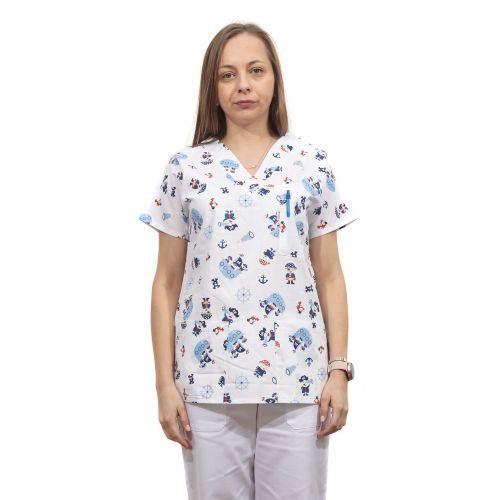 Bluza dama imprimata model 20